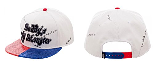 DC's Suicide Squad Daddy's Lil Monster Snapback Baseball Cap Hat