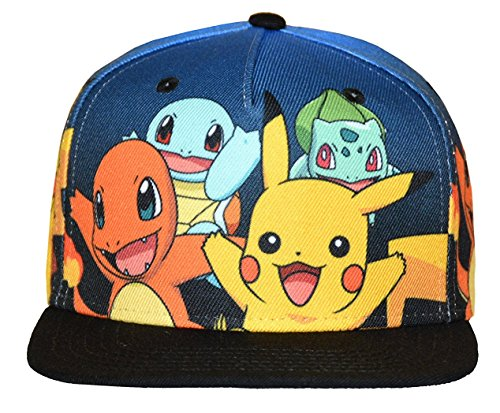 Pokemon Gotta Catch'em All Youth Snapback Cap