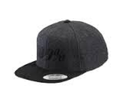 100% Speedlab Snapback Hat - One size fits most/Charcoal