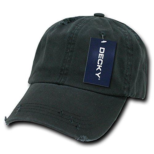 DECKY Vintage Polo Snapback cap, Black