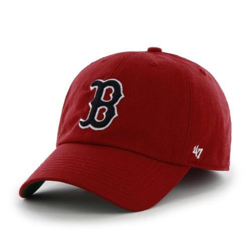 MLB Boston Red Sox Cap, Red, X-Large