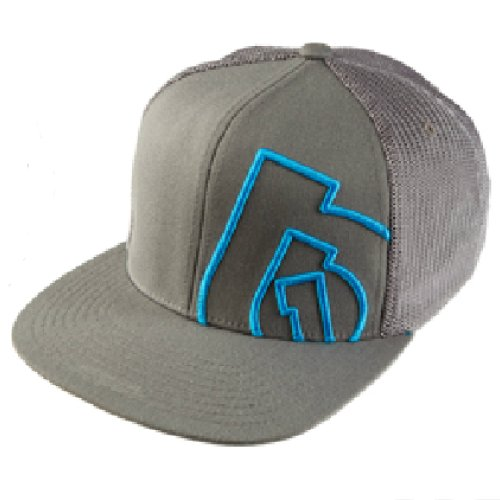 SixSixOne Anderson Snapback Hat (Gray, One Size)