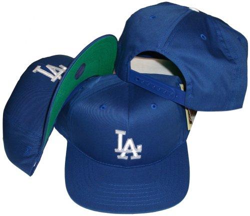 Los Angeles Dodgers Blue Plastic Snapback Adjustable Plastic Snap Back Hat / Cap