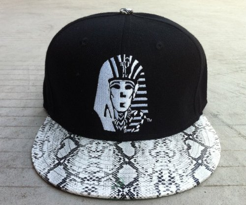 Last Kings Snake Skin Snapback V Snap Back Leopard(black)