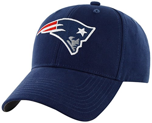 NFL New England Patriots Kid's '47 Brand Basic MVP Adjustable Hat, Light Navy