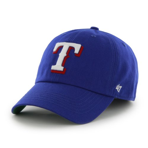 MLB Texas Rangers Cap, Royal, X-Large