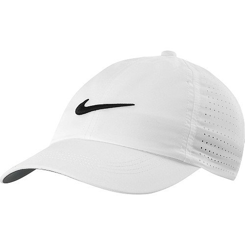 Nike Youth Perforated Cap - White