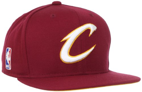 NBA Cleveland Cavaliers Authentic On-Court Adjustable Snapback Hat, One Size