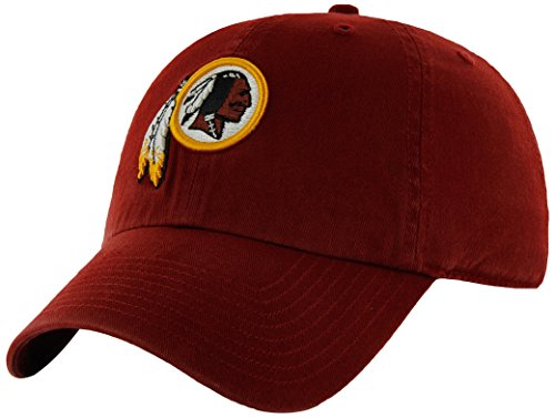 NFL Washington Redskins Clean Up Adjustable Hat, Razor Red, One Size Fits All Fits All