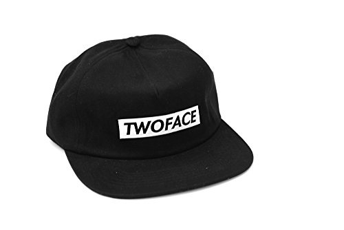 T.W.O. Face London Black Snapback