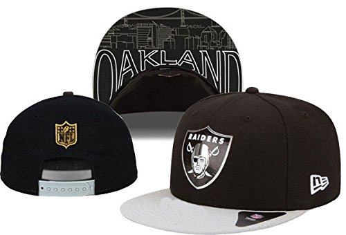 Unisex Adjustable Hip Hop Sports Fans Hat Snapback Baseball Caps (Oakland Raiders)