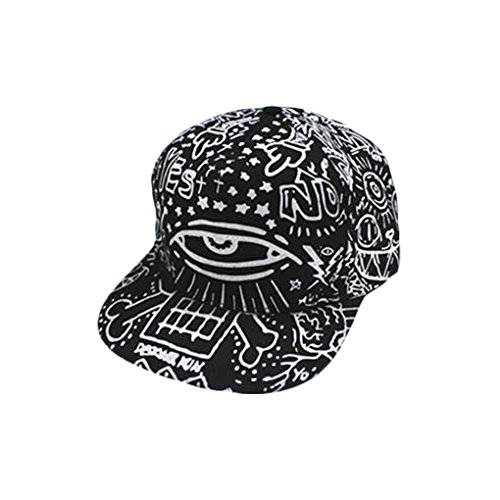 XTX Men Women Hip Hop Eye Graffiti Snapback Baseball Hat Cap Adjustable