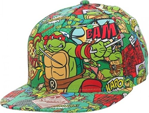 TMNT Teenage Mutant Ninja Turtles baseball hat