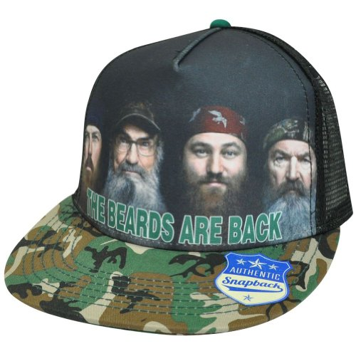 Duck Dynasty - Beards are Back trucker cap