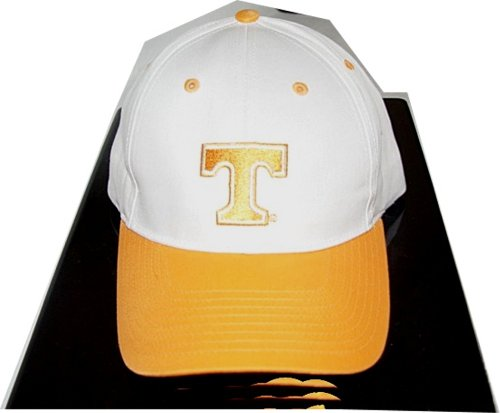Tennessee Volunteers cap hat two tone twill orange white buy one get one free