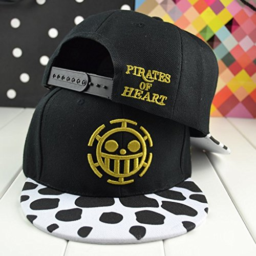 Anime One Piece Cosplay Canvas Snapback baseball Cap Hip Hop