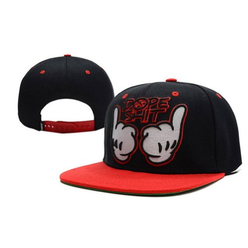 Dope Shit Black Red Men Women's Snapback Hats Classic Caps