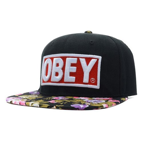 HOT Floral Snapback Hats Top Quality Men Women's Classic Baseball Caps OB02