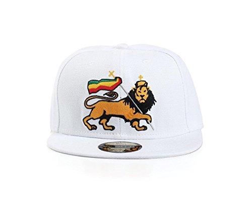 Underground Kulture Rasta Lion Snapback Baseball Cap