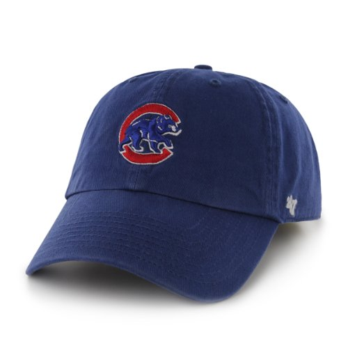 MLB Chicago Cubs 47 Brand Adjustable Clean Up Hat, Royal, One Size