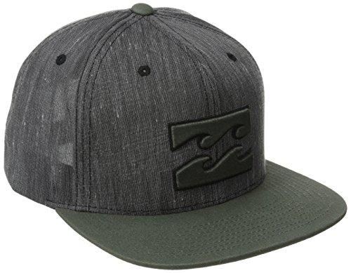Billabong Men's Transit Adjustable Hat, Black, One Size