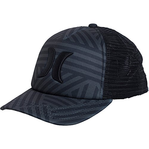 One & Only Trucker Hat, Black/Basket Weave by Hurley for Women's