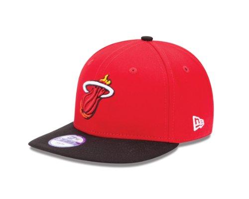 NBA Miami Heat Youth 9Fifty Snapback Cap (Red/Black, Youth)