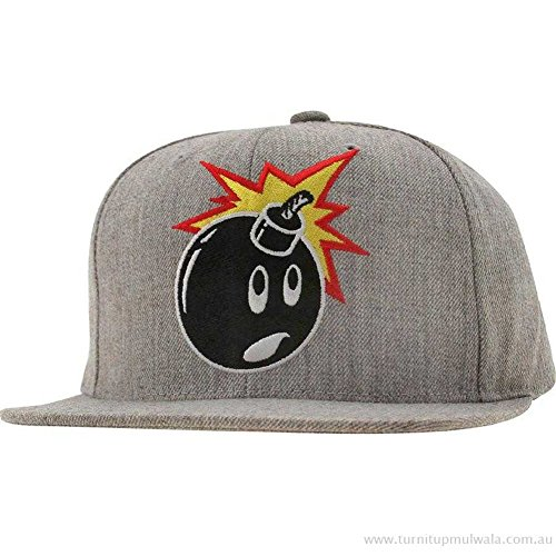 The Hundreds Bomb Retro Snapback Cap Hat All Wool
