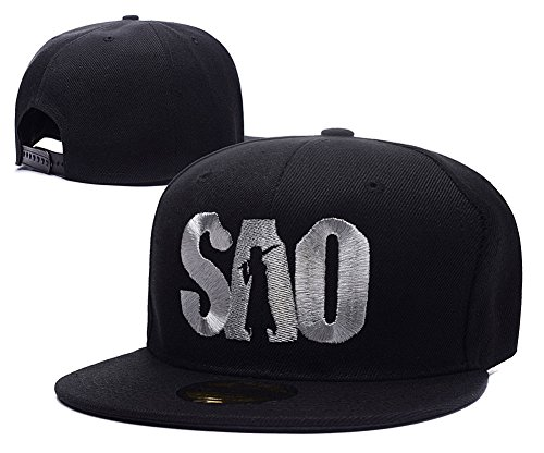 Sword Art Online Logo Adjustable Snapback Embroidery Hats Caps