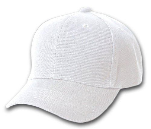 fd285d19e17 Features. Plain Baseball Cap Blank Hat Solid Color  Velcro Adjustable ...