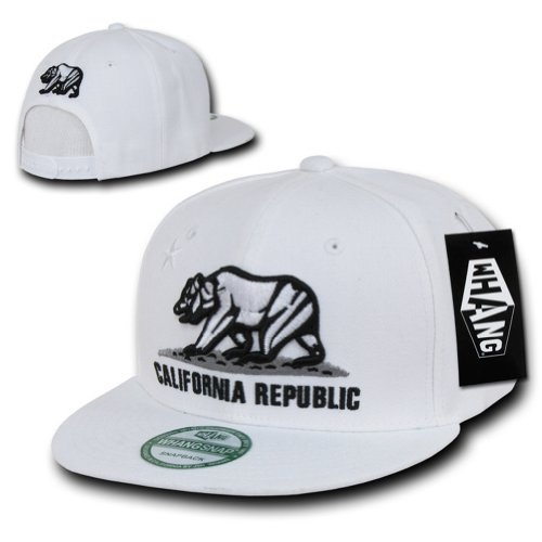 WHANG Snapbacks, White baseball cap