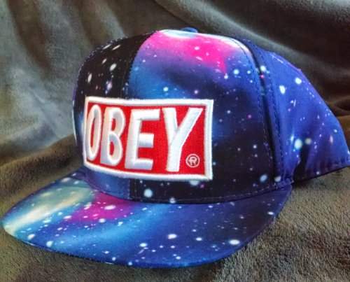 Obey Galaxy Caps Adjustable Hip Pop Baseball Snapback Hats