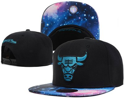 Chicago Bulls Galaxy Baseball hat