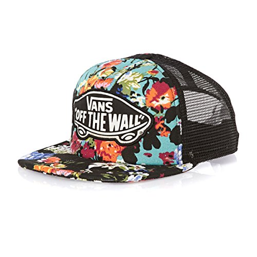 Vans Women's Beach Girl Trucker Cap - Floral Smoked Pearl/true White