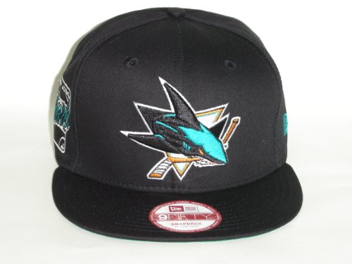 NewEra NHL San Jose Sharks Primary Fan Black Snapback Cap 9fifty
