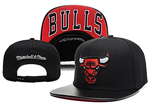 Unisex Adjustable Hip Hop Sport Support Hat Snapback Baseball Cap (Chicago Bulls 3#)