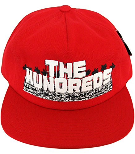 The Hundreds, Hollywood Adjustable Snapback Hat, Red