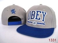 Obey Snapback Caps Adult's Exclusive Adjustable Hats Cheap Sale Online Grey Blue Orange