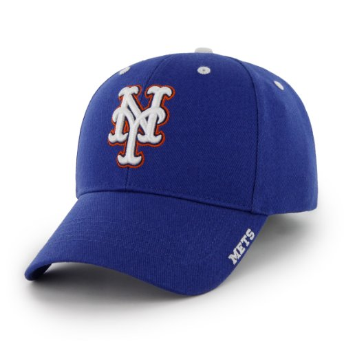 MLB New York Mets 47 Brand Adjustable Frost MVP Hat, Royal, One Size