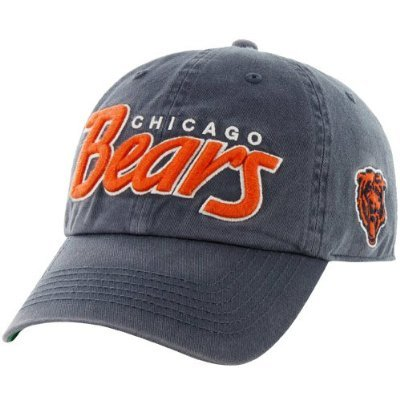 NFL Chicago Bears Men's 47 Brand Modesto Snapback Cap (Navy, One-Size)
