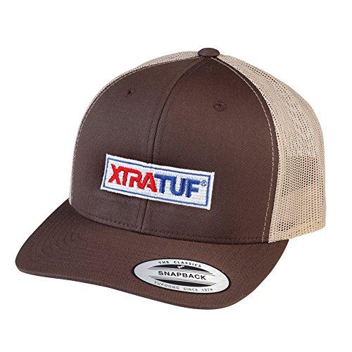 Xtratuf XA-110H-BRN-000 Snapback Baseball Cap, Tan Brown