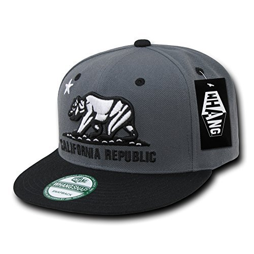 WHANG Cali Bear Flag Republic baseball cap