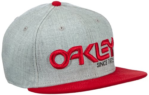 Oakley Men's 75' Snap-Back Cap-465, Red Line, One Size