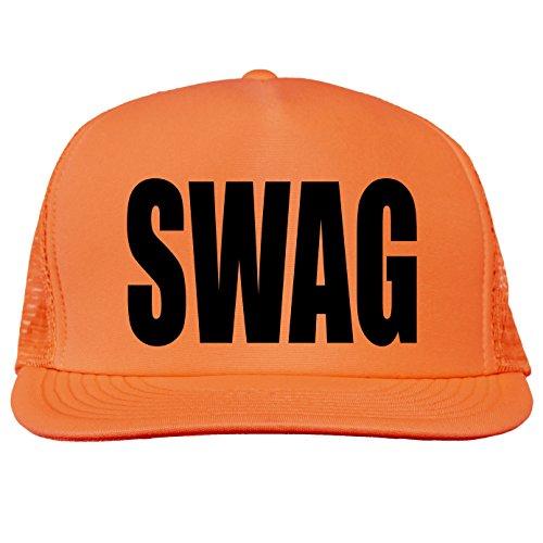 SWAG Bright neon truckers mesh baseball cap