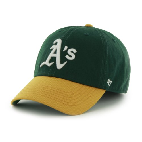 MLB Oakland Athletics Cap, Dark Green, Large