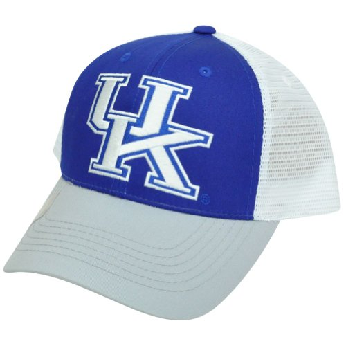 NCAA Mesh Twill Snapback Two Tone Curved Adjustable Hat Cap UK Kentucky Wildcats